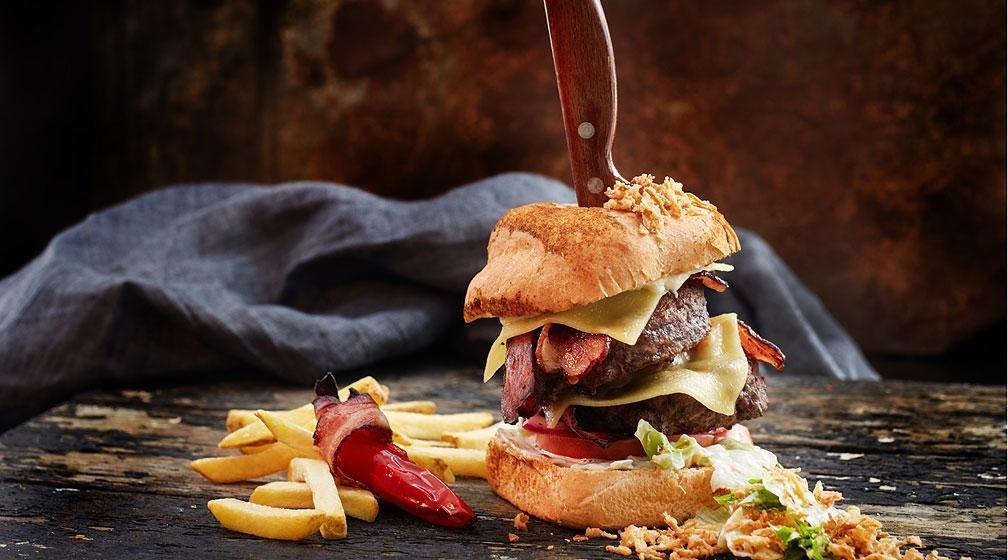 Amarillon XXL-burger