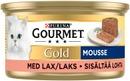 Purina Gourmet Gold Mousse Lohi Kissanruoka 85G