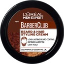 L'oréalParisMenExpertBarber Club Beard & Hair Styling Cream Parran Ja Hiustenmuotoiluvoide 75Ml