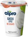 Alpro Greek Style Unsweetened Hapatettu Soijavalmiste, Maustamaton 400G
