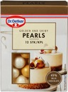Dr. Oetker Golden And Shiny Pearls 12 Kpl