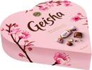 Fazer Geisha Sydän Hasselpähkinänougattäytteinen Maitosuklaakonvehti 225G