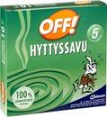 Off! 10X140 G Hyttyssavu Hyttyskarkote