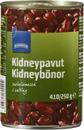 Kidneypaput suolaliemessä 410/250g