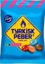 Tyrkisk Peber Hot & Sour 150G Pippurisia Salmiakkihedelmäkaramelleja