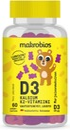 Makrobios Pehmonalle D3 + Kalsium + K2-Vitamiini 60Kpl 120G