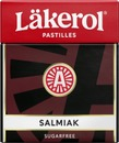 Läkerol Classic Salmiak Pastilli 25G