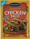 Santa Maria 28G Tex Mex Chicken Taco Spice Mix