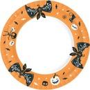 Duni 10Kpl 22Cm Halloween Fun Kartonkilautanen