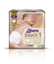Libero Touch Teippivaippa Koko 1 2-5Kg 22 Kpl