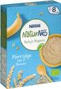 Nestlé Naturnes 240G Luomu Mieto Kaura Ja Banaani Puurojauhe 8Kk