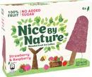 Heartbrand Nice By Nature Monipakkaus Mansikka & Vadelma 6X40ml/252G