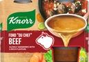 "Knorr Fond ""Du Chef"" Naudanliha-Annosfondi 8X28g"