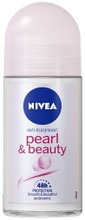 Nivea 50Ml Pearl & Beauty Deo Roll-On -Antiperspirantti