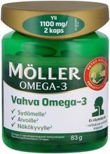 Möller Vahva Omega-3 Omega-3-Rasvahappokapseli Ravintolisä 90G/70Kaps