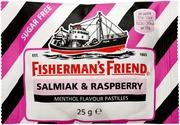 Fisherman´S Friend 25G Salmiakki-Vadelma Sokeriton Pastilli