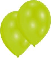 Ilmapallokeskus Ilmapallo Limenvihreä 10 Kpl