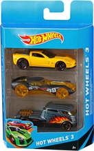 Hot Wheels 3 Pikkuauto...
