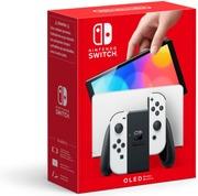 Nintendo Switch (Oled Model) White -Pelikonsoli