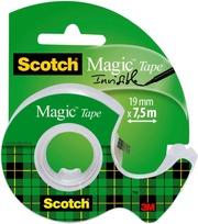 Scotch Magic -Teippi, 1 Rla 19 Mm X 7.5 M   1 Minikatkaisija