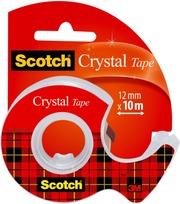Scotch Crystal- Teippi 1 Rla 12 Mm X 10 M   Minikatkaisija