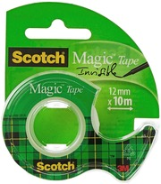 Scotch Magic -Teippi 1 Rla 12 Mm X 10 M   1 Minikatkaisija