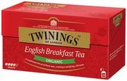 Twinings 25X2g English Breakfast Luomu