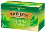 Twinings 25X1,6g  Green Tea Earl Grey