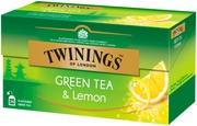 Twinings 25X1,6g Green Tea & Lemon
