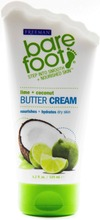 Freeman 125ml BareFoot Butter Cream Lime & Coconut jalkavoide