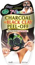 MJ 10 ml Charcoal + Black Clay peel-off kasvonaamio