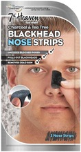 MJ Men's 3x Charcoal & Tea Tree Nose Pore Strips