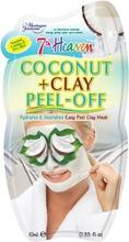 Montagne Jeunesse 7Th Heaven Coconut & Clay Peel-Off Mask 10Ml, Kalvomainen Savinaamio