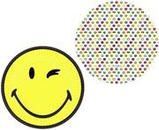 Emoji Pahvilautanen 23 Cm 8 Kpl/Pkt