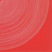 Marimekko 33Cm Fokus Punainen 20Kpl Lautasliina