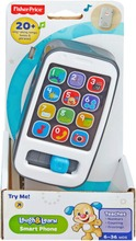 Fisher Price Laugh & Learn Smart Phone Älypuhelinlelu Suomenkielinen 6Kk