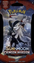 Pokemon Sun & Moon Crimson Invasion -Keräilykortit