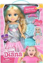 Love Diana Doll Mashup Party/Mermaid 33Cm Nukke