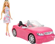 Barbie Glam Convertible & Doll Fpr57