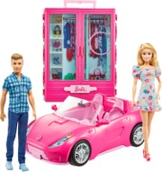 Barbie Doll, Convertible And Closet Gvk05