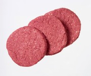 Tamminen Rotukarja Naudan Burgerpihvi 1,44Kg/8Kpl, Raakalihavalmiste