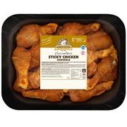 Kariniemen Kananpojan koipipala Sticky Chicken n. 1,5 kg
