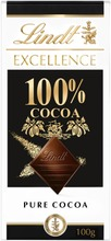 Lindt Excellence 100% Kaakaolevy 50G
