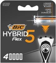 Bic Hybrid Flex 5 Varaterä 4-Pack