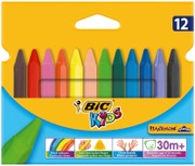 Bic Kids Kolmiomuovivahaliitu 12Kpl