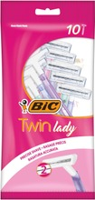 Bic Varsiterä Twin Lady 10-Pack