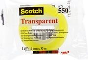 Scotch Läpinäkyvä Teippi 550 19 Mm X 33 M