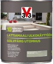 V33 2,5L Lattiamaali Betonille Vesiohenteinen Harmaa