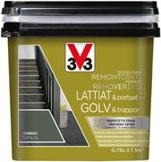 V33 Remontointimaali Lattiat Ja Portaat 750Ml Tarmac