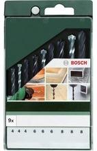 Bosch Poranteräsarja 9-Osainen Metalli/Betoni/Puu